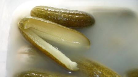 Kovászos uborka leve